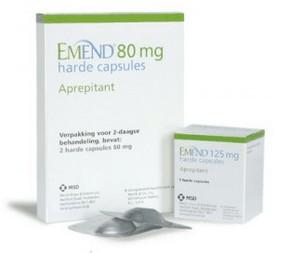 verpakkingen Emend (aprepitant) capsules