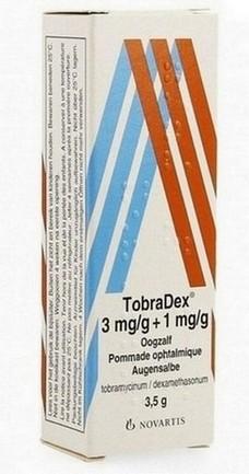 Tobradex (tobramycine + dexamethason) oogdruppels