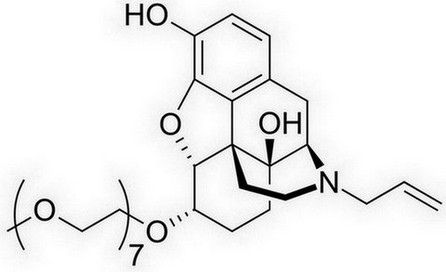 naloxegol - chemische structuur