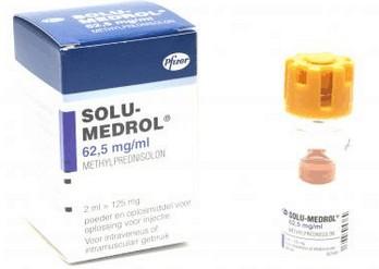 verpakking Solu-Medrol (methylprednisolon)