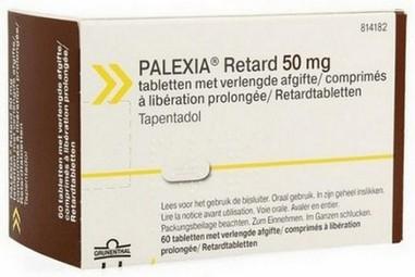 verpakking Palexia (tapentadol)