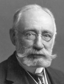 Dr Gordon Norrie (1855-1941) - naamgever van de ziekte van Norrie