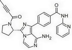 acalabrutinib - chemische structuur