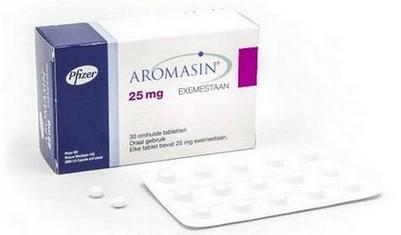 verpakking Aromasin (exemestaan) 25 mg tabletten