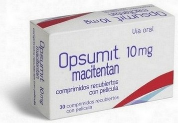 verpakking Opsumit (macitentan) 10 mg tabletten
