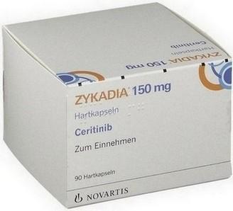 verpakking Zykadia (ceritinib) capsules