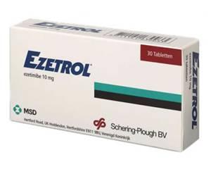 Ezetrol (ezetimibe) wordt gebruikt bij de behandeling van sitosterolemie