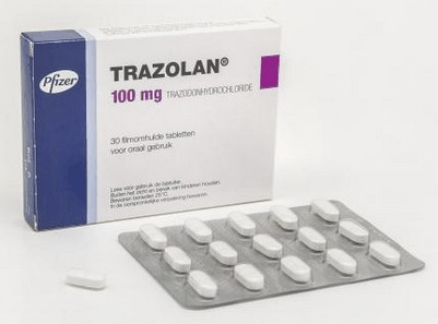 verpakking Trazolan (trazodon) 100 mg tabletten