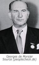 Prof Georges de Morsier - naamgever van het syndroom van De Morsier