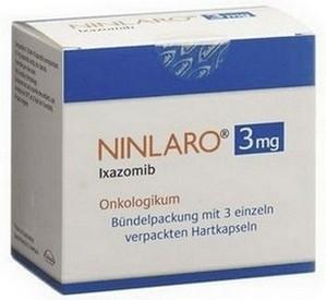 verpakking Ninlaro (ixazomib) 3 mg capsules